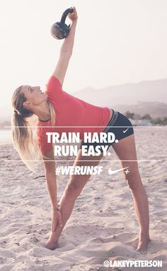 Train hard. Run easy. #werunsf #nike