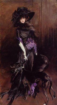 La Marchesa Luisa Casati ,1908 |  Giovanni Boldini