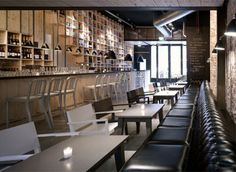 Interieur inrichting restaurant Mazzo   Interieur inrichting