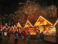 """Vienna Christmas Market - Typical stalls which sell everything - not just Christmas - even saw some """"Hemp"""" incense. Didn't buy any."""