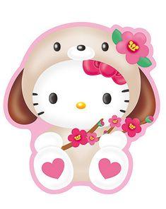 Sanrio Wallpaper Hello Kitty Pics Baby Friends Friend 2 Calendar Dibujo Cards Walpaper