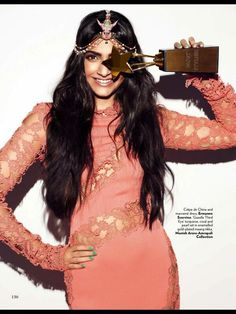 Sonam on the cover of VOGUE India - June 2013