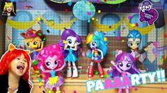 My Little Pony Equestria Girls School Dance Set Toys Unboxing Girls School, School Dances, Equestria Girls, My Little Pony, Kids Toys, Party, Childhood Toys, Children Toys, Mlp