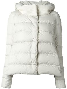 Herno Hooded Padded Jacket - Cuccuini - Farfetch.com
