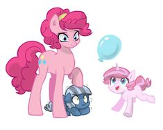 Pinkie and her daughters My Little Pony Comic, My Little Pony Drawing, My Little Pony Pictures, Pinkie Pie, Kilala97, Raimbow Dash, Little Poni, Mlp Comics, Mlp Fan Art