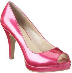 #NineWest                 #Women #Shoes             #danee #peep #toe #platform #pump                   DANEE                     Platform peep toe pump with 4 heel & 1/2 platform.  http://pin.seapai.com/NineWest/Women/Shoes/1169/buy