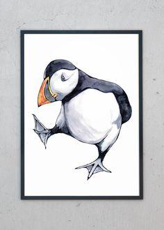 Plakat af Birdy fra Stine Hvid