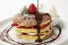 パンケーキ専門店「バター」から生チョコづくしのパンケーキ&濃厚チョコドリンク
