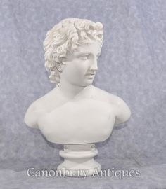 Stone Bust Young David Classical Sculpture Statue Marble Bust, Court Dresses, Close Up Photos, David, Sculpture, Statue, Classic, Art, Derby