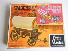 Htf Ralston Purina *checkerboard* Covered Wagon Model Kit