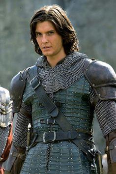 "Ben Barnes in armor in ""Chronicles of Narnia: Prince Caspian"""