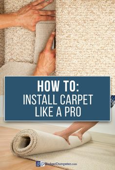 Start home remodeling from the ground up. How-To tutorials and project inspiration all in one place; learn how to properly install carpet with instructions from the pros. Click and read How to Install Carpet Like a Pro and get your DIY flooring project started today!
