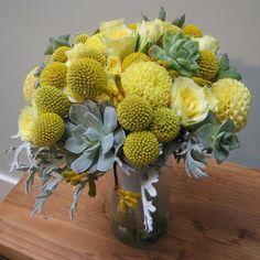 Yellow Press Weddings: peachy keen color scheme #004: yellow, grey, blue