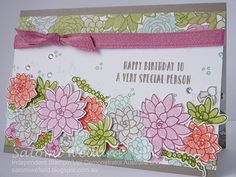 Satomi Wellard-Independent Stampin'Up! Demonstrator Australia and Japan, , , Thing 1, Stamping Up Cards, Card Envelopes, Happy Birthday Cards, Diy Cards, Homemade Cards, Making Ideas, Cardmaking, Stampin Up