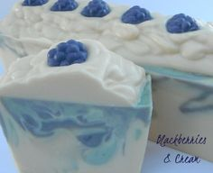 Oil & Butter - Blackberries & Cream Soap