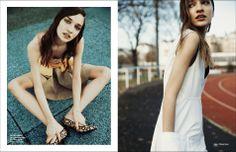 Girl's Day Out/ Left Top / Burce Bekrek Skirt / Veronique Leroy Belt / Zana Bayne Stiletto / Louis Felix Right Dress / Wanda Nylon