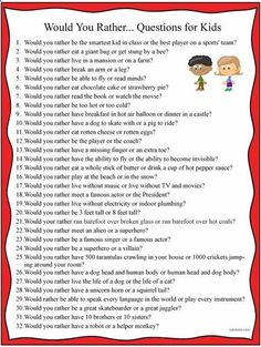 Clean questions list for kids work/school life обучение английскому, малень Would You Rather Questions, This Or That Questions, Kids Questions, Would You Rather Kids, Funny Icebreaker Questions, Essay Questions, Kids And Parenting, Parenting Hacks, Natural Parenting