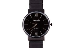 Affordable version of Black Cluse watch from Luna Pyxis