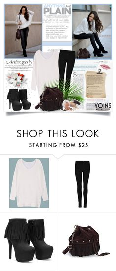 """""""Yoins #10"""" by ana-anaaaa ❤ liked on Polyvore featuring Laura Mercier, polyvoreeditorial and yoins"""
