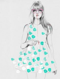fashion illustrator - Esra Røise!