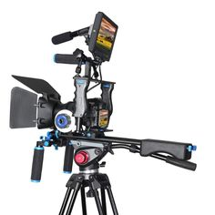 DSLR Rig Stabilizer Video Camera Cage Mount Rig+Matte Box
