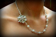 Bridesmaid Gift SetNecklace and Earring by dreamdaydesign on Etsy