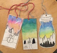 Winter Crafts For Kids 2020 Classroom Art Projects, Art Classroom, Art Activities For Kids, Art For Kids, Winter Crafts For Kids, Winter Art Projects, 6th Grade Art, Jr Art, Art Club