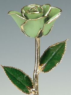Real Rose in Plated 24k Gold  Gift for Her  Light by LivingGoldCo