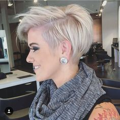 @jessattriossalon did this great cut on @lyndee_hairlove_marie . Its the other side from a post a week ago