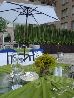 Decoración de eventos empresariales, flores para evento ejecutivo