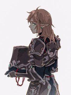 The Legend Of Zelda, Legend Of Zelda Quotes, Legend Of Zelda Breath, Ben Drowned, Pretty Drawings, Dark Art Drawings, Cartoon Games, Manga Games, Resident Evil