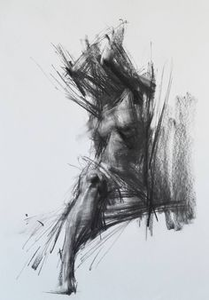 Buy Prints of Allegro no.81, a Charcoal on Paper by Zin Lim from United States. It portrays: Body, relevant to: realism, charcoal, crossover, drawing, expressionism, expressive, figure, hybrid, impressionism ALLEGRO series (2015-) 'Allegro' is a temporary life event, carnival. Rhythm, melody, tone, bit and motion with the most primitive medium, charcoal or monochromatic oil rush. Subtitle, (Spiccato) is a technique of violin playing which is similar to my way of holding tools and the way of…