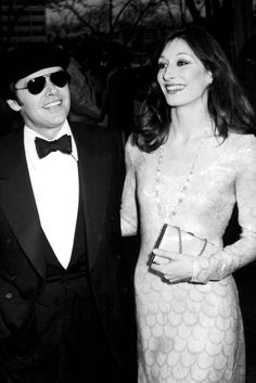 Jack Nicholson/Angelica Houston [such a gorgeous picture of her]
