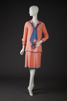 Dress  1927-1928  The Goldstein Museum of Design