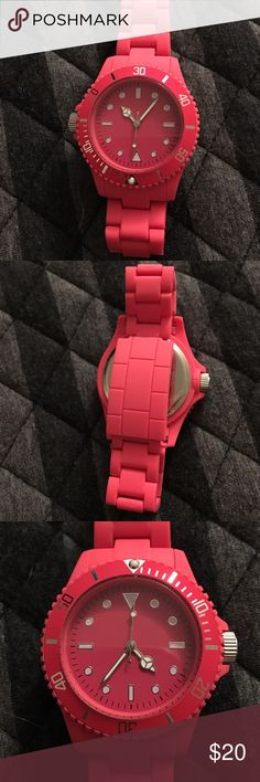 Pink Watch New and never worn, but needs new batteries Accessories Watches