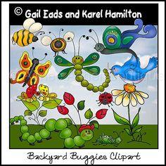Backyard Buggies Clipart