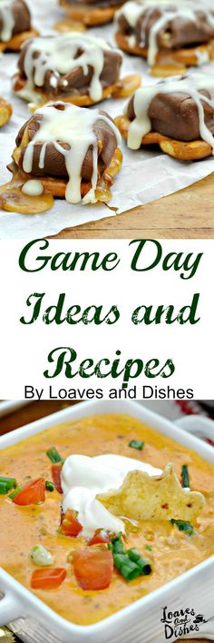 Simple Game Day Ideas and Recipes Available with this post.  #ad #GameDayGlory #CollectiveBias