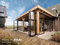 Back Patio, Backyard Patio, Outdoor Rooms, Outdoor Living, Patio Design, Garden Design, Design Jardin, Shed Homes, House Extensions