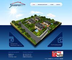 Webové stránky společnosti Starstav s.r.o. #webdesign