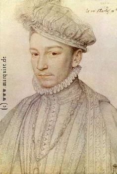 Charles IX by Clouet