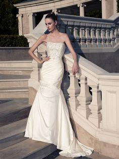 Casablanca 2097 - Ellie's Bridal Boutique (Alexandria, VA)