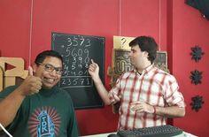 Aun no grabamos este truco matemático es genial! Les gustan las matemagicas?