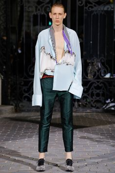 Haider Ackermann Spring 2017 Menswear Collection Photos - Vogue