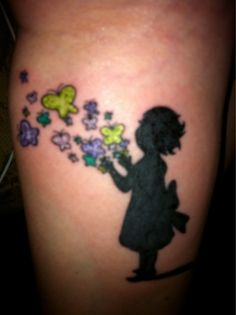 My tattoo for my daughter, Daisy!