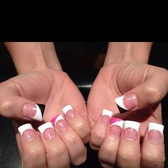 Duck feet nails without the black and pink!