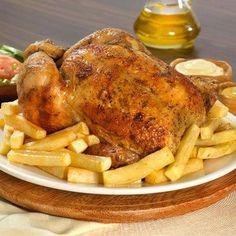 Pollo a la brasa, peruvian food. The best dish ever! Peruvian Dishes, Peruvian Cuisine, Peruvian Recipes, Gourmet Recipes, Real Food Recipes, Yummy Food, Delicious Meals, Chicken Recipes, Peruvian Chicken