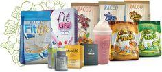 Linha Life da Racco - Contatos: (79)9834-6438/8806-3417 E-mail: carmem1957bs@yahoo.com.br