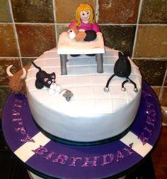 Vet Nurse Cake Decorations