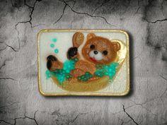 Bear take a bath Soap, Bath, Kids, Handmade, Young Children, Bathing, Boys, Hand Made, Children
