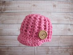 Crochet Baby Newsboy Hat Baby Crochet Hat Baby by Monarchdancer, $25.00